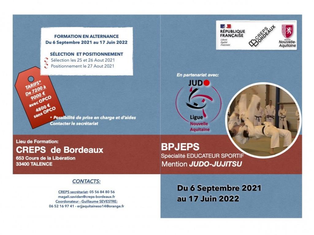 Image de l'actu 'Plaquettes des  Formations Ligue Judo N Aquitaine'