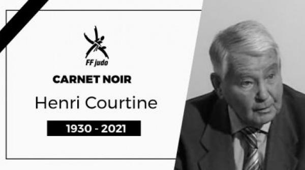 DÉCÈS HENRI COURTINE