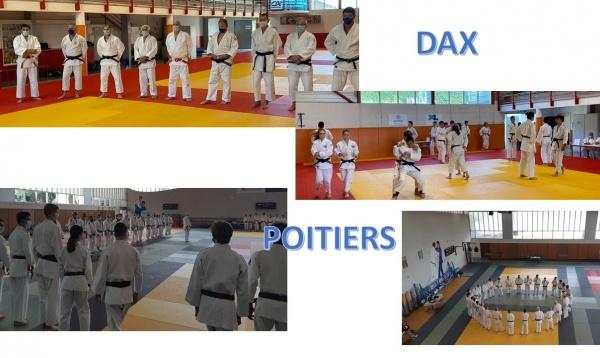 Formation des Juges Kata et Passage de Grades 26 JUIN